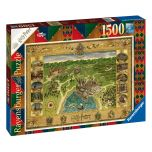 Hogwarts Map Harry Potter Jigsaw Puzzle (1500 pieces)