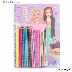 Colouring Book With Pen Set | Top Model
