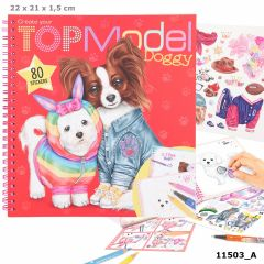 Create your TOPModel Doggy Colouring Book | Top Model