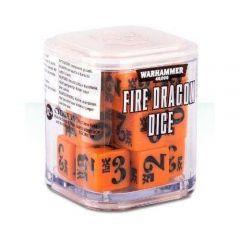 Fire Dragon Dice Cube - Warhammer 40,000