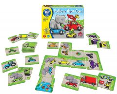 Follow That Car! Game - Orchard Toys