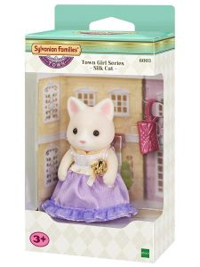 Town Girl Series - Silk Cat - Sylvanian Families