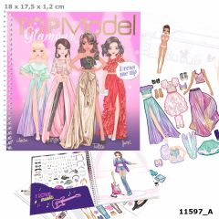 Dress Me Up Stickerbook GLAMOUR | Top Model