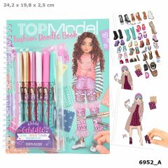 Fashion Doodle Book With Gel Pens | Top Model