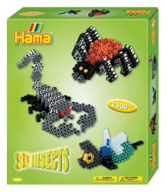 3D Insects - Hama Beads - DKL