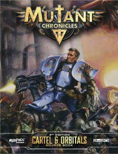 Cartel & Orbitals Guidebook: Mutant Chronicles (Supplement)