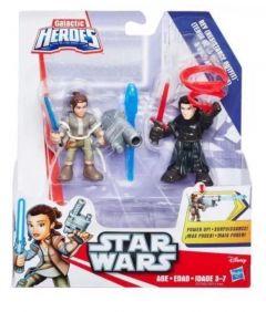 Rey (Resistance Outfit) & Kylo Renn - Star Wars Galaxy Heroes