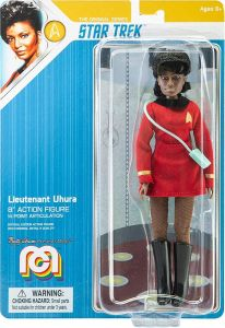 "Lieutenant Uhura - Mego 8"" Action Figure - Star Trek"