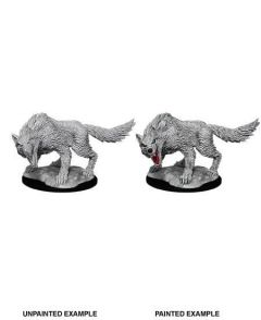 Winter Wolf - Dungeons & Dragons Nolzur's Marvelous Miniatures