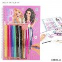 Colouring Book With Pen Set -10049 - TOPModel