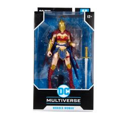 Wonder Woman with Helmet of Fate   Batman: Last Knight on Earth   DC Multiverse Action Figure   McFarlane Toys