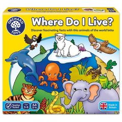 Where Do I Live? Game - Orchard Toys