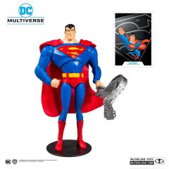 "Animated Superman 7"" Action Figure - McFarlane DC Multiverse"