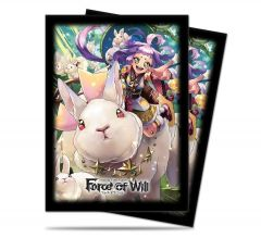 Kaguya Standard Deck Protectors for Force of Will 65ct - Card Game Sleeves