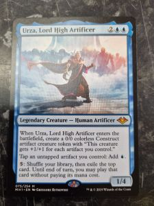 Urza, Lord High Artificer 075/254 Modern Horizons Single Card - Magic The Gathering