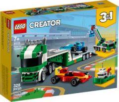31113 Race Car Transporter   LEGO Creator