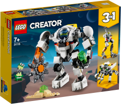 31115 Space Mining Mech | LEGO Creator