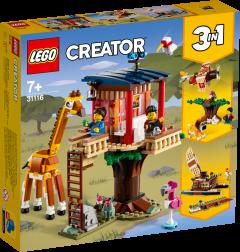 31116 Safari Wildlife Tree House | LEGO Creator