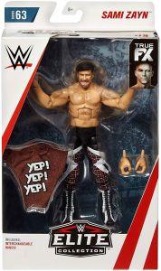 Sami Zayn - Elite #63 - WWE Action Figure - Complete with Yep! Yep! Yep! removable t-shirt accessory