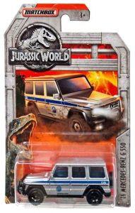 14 Mercedes-Benz G 550 - Jurassic World Diecast Collection - Matchbox