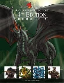 Counter Collection 4th Edition Heroic 2 - Fiery Dragon