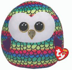 "Owen Owl   Ty Boo Plush   10"""