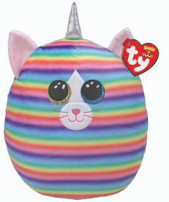 "Heather Cat   Ty Boo Plush   10"""