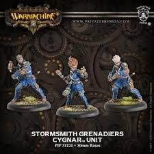 Stormsmith Grenadiers - Cygnar - Unit -Warmachine