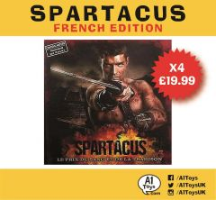 4 Copies of Spartacus - Blood and Treason French Language Edit. - GaleForce Nine NOT IN ENGLISH