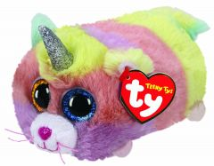 Heather Cat With Horn   Teeny Ty Plush