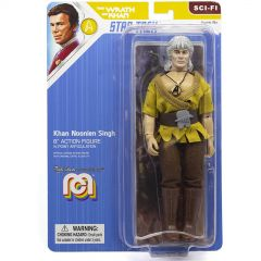 "Khan Noonien Singh - Mego 8"" Action Figure - Star Trek Wrath of Khan"