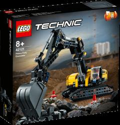 42121 Heavy-Duty Excavator | LEGO Technic