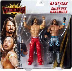 AJ Styles & Shinsuke Nakamura - Wrestlemania Battlepack - WWE