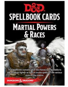 Dungeons and Dragons Martial Spell Deck - Version 3 - Gale Force Nine