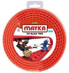 Red Toy Block Tape - 1M 2Stud - Zuru