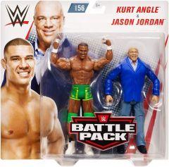 Jason Jordan & Kurt Angle - Battle Pack 56 - WWE Action Figure