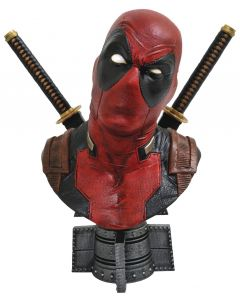 Deadpool - 1/2 Scale Resin Bust - Legendary Marvel Comics