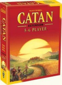 Catan 5-6 Player Expansion 2015 Refresh Edition - (The Settlers of Catan).