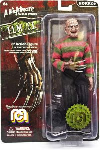 "Freddy Krueger - Mego 8"" Action Figure - A Nightmare On Elm Street"
