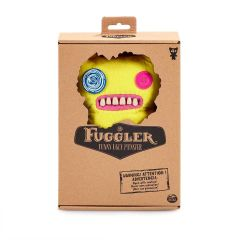 Indecisive Monster (yellow) 22cm | Funny Ugly Monster | Fuggler