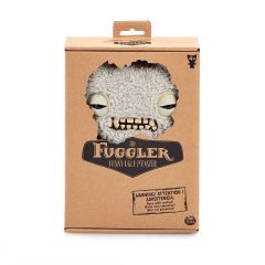 Munch Munch (fuzzy grey) 22cm | Funny Ugly Monster | Fuggler