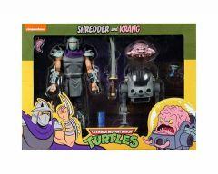 Shredder vs Krang - NECA Teenage Mutant Ninja Turtles Cartoon 2 Pack Action Figure