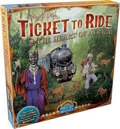 Ticket to Ride Game: Heart of Africa Map Collection