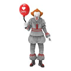 """I Heart Derry Pennywise 5"""" Action Figure - PhatMojo"""