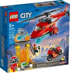 60281 Fire Rescue Helicopter   LEGO City