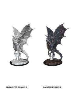 Young Silver Dragon - Dungeons & Dragons NolzurΓÇÕs Marvelous Miniatures