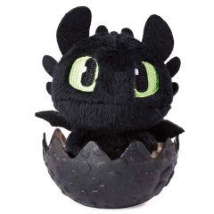 Toothless (Black egg) - Dragon Egg Plush - How to Train Your Dragon - The Hidden World