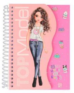 Spiral Notebook Light Pink - TOPModel  - Depesche