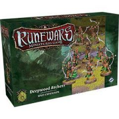 Runewars Miniatures Game Latari Deepwood Elf Archers Unit FFG Game