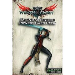 Talents & Psychic Powers Card Pack - Wrath & Glory - Warhammer 40,000 Roleplaying